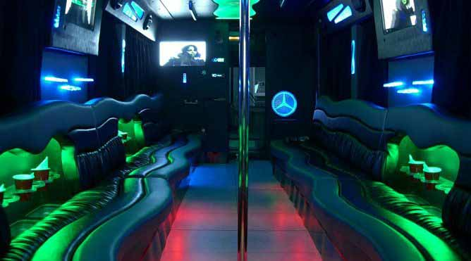 Petaluma 20 Passenger Party Bus