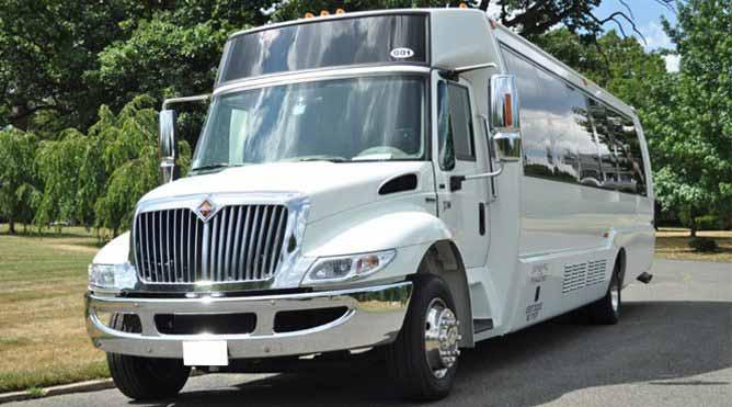 Petaluma 28 Passenger Party Bus
