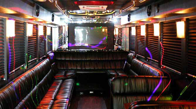 Petaluma 40 Passenger Party Bus