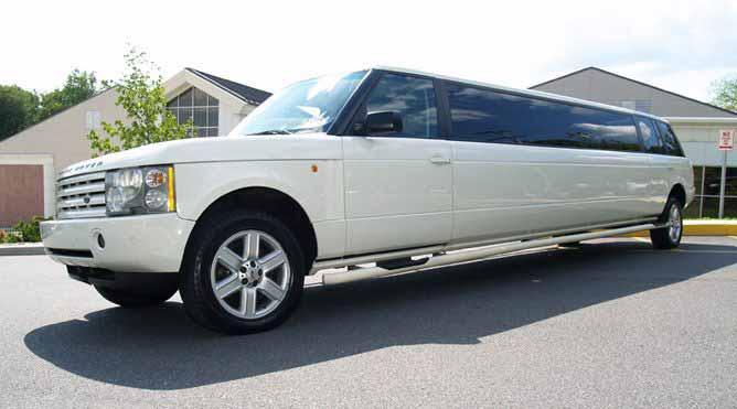 Petaluma Range Rover Limo
